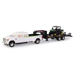 John Deere 1:32 scale RSX 860i Toy Gator Set - 47173
