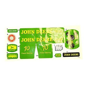 Complete Decal Kit for John Deere Model 70 Die-cast Pedal Tractor - P10464