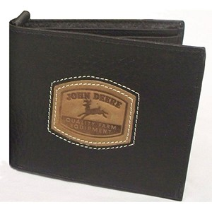 John Deere Bi-Fold Wallet with Historical Logo - 4054000