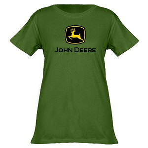 John Deere 2000 Trademark Ladies' Green T-shirt - 23000000GR