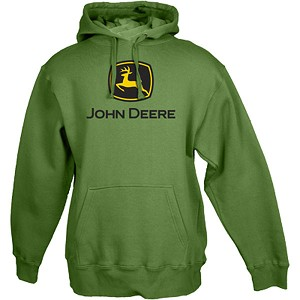 John Deere Green Ladies' Fleece Hoodie - 23200000GR
