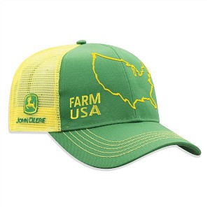 John Deere Green Farm USA Cap - LP75989