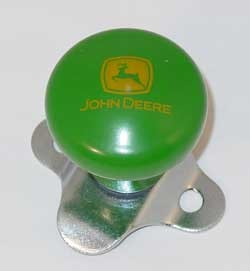 John Deere Steering Wheel Spinner Knob With 2000 Logo