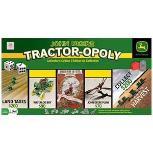 John Deere Tractor-Opoly Collectors Edition Board Game - LP46430