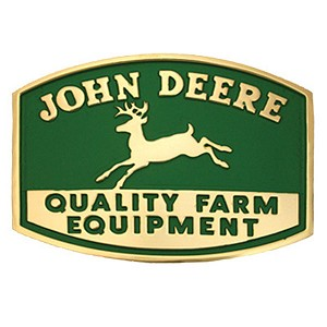 John Deere Montana Silversmiths Quality Farm Equipment Belt Buckle - LP19902