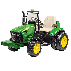 John Deere Dual Force 12-volt Battery Operated Tractor - LP67353