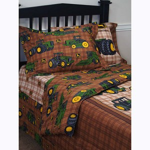 John Deere Traditional Bed Skirt- LP31350