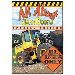 """All About John Deere Special Edition"" Series 5 , Live Action DVD    40 minutes"