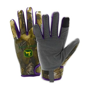 John Deere Women's Realtree Xtra Touch Screen Gloves - LP67383 - LP67382